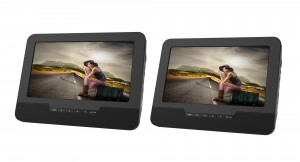 "9"" DUAL SCREEN PORTABLE DVD PLAYER"